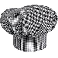 Uncommon Threads 0150 Houndstooth Customizable Twill Chef Hat
