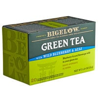 Bigelow Green Tea with Blueberry Acai Tea Bags - 20/Box