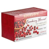 Bigelow Cranberry Harvest Herbal Tea Bags - 18/Box