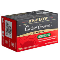 Bigelow Constant Comment Decaffeinated Tea Bags - 20/Box