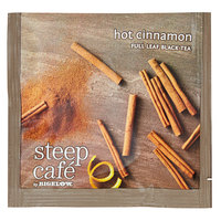 Steep Cafe By Bigelow Hot Cinnamon Black Tea Pyramid Sachets - 50/Case