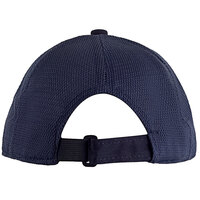 Henry Segal Customizable 6-Panel Navy Chef Cap with Mesh Back, Moisture Wicking Band, and UV Protection