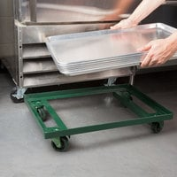Chicago Metallic 42580 Steel Sheet Pan Dolly with 3 inch Casters