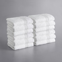 Towels N More 60 Washcloths 12x12 inches 100/% Cotton Hotel GYM SPA Salon Towels