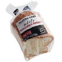 Rich's 14 oz. Gluten-Free White Sandwich Bread Loaf - 8/Case