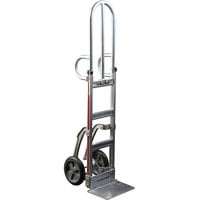 Magliner NTKC36E1B5 Narrow Aisle Hand Truck with Double Loop Handles and Straight Back Frame