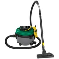 Bissell Commercial BGCOMP9H 9 Qt. Advance Filtration Canister Vacuum Cleaner with Wheels and 8' Extension Hose
