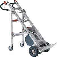 Magliner HDL360U-4W Heavy-Duty Powered Stair Climbing Hand Truck with Universal Handle and Fourth Wheel Attachment