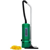 Bissell Commercial BG1001 10 Qt. Backpack Vacuum Cleaner with 4' Swivel Hose and HEPA Filtration