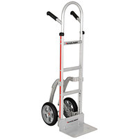 Magliner NTK130E2F5 Narrow Aisle Hand Truck with Double Grip Handles and Straight Back Frame