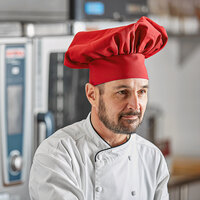 Intedge 13 inch Red Chef Hat
