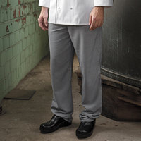 Uncommon Threads 4020 Unisex Houndstooth Customizable Executive Chef Pants - L