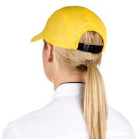 Headsweats Yellow Customizable 5-Panel Chef Cap with Eventure Fabric and Terry Sweatband