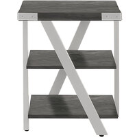 Safco MRETSGY Mirella 20 inch x 20 inch x 25 inch Stone Gray End Table