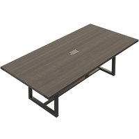 Safco MRCS8STO Mirella 8' Southern Tobacco Rectangular Conference Table