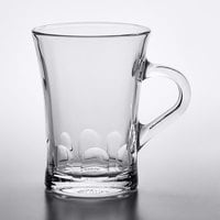 Duralex 4001AR06 Amalfi 6 oz. Stackable Glass Espresso Mug - 6/Pack