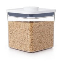 OXO 11233600 Good Grips 2.8 Qt. POP Square Container with White POP Lid