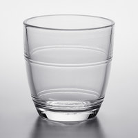 Duralex 1015AB06 Gigogne 3.125 oz. Stackable Glass Tumbler   - 6/Pack