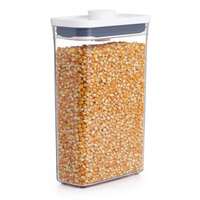 OXO 11234800 Good Grips 1.9 Qt. POP Slim Rectangular Container with White POP Lid