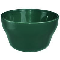 International Tableware CA-4-G Cancun 7.25 oz. Green Stoneware Bouillon - 36/Case