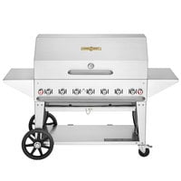 Crown Verity MCB-48PRO Professional Series Liquid Propane 48 inch Mobile Outdoor Grill with Accessory Package
