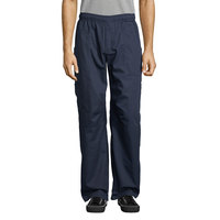 Uncommon Threads 4102 Unisex Navy Customizable Grunge Cargo Chef Pants - L