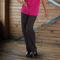 Uncommon Threads 4101 Women's Black Customizable Chef Pants - L