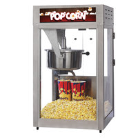 Nemco GS1516 Global Solutions 16 oz. Black and Stainless Steel Popcorn Machine / Popper - 120V, 1710W