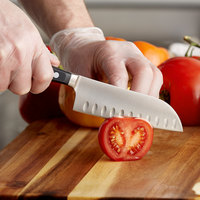 Wusthof 4182-7 Classic 5 inch Forged Hollow Edge Santoku Knife with POM Handle