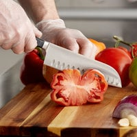 Wusthof 4183-7 Classic 7 inch Forged Hollow Edge Santoku Knife with POM Handle