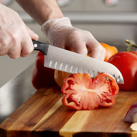 Wusthof 4188-7 Gourmet 7 inch Hollow Edge Santoku Knife with POM Handle