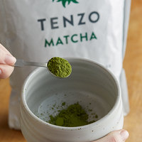 Tenzo 1 Kilogram (2.2 lb.) Organic Ceremonial Matcha Green Tea Powder