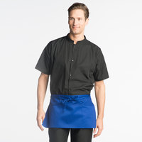 Uncommon Threads 3067 Royal Blue Customizable Waist Apron with 3 Pockets - 11 inch L x 23 inch W