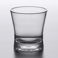 Carlisle 560907 Alibi 8.3 oz. SAN Plastic Rocks / Old Fashioned Glass - 6/Pack