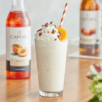 Capora 750 mL Peach Flavoring Syrup