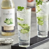 Capora 750 mL Cucumber Mint Flavoring Syrup