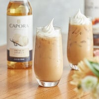 Capora 750 mL French Vanilla Flavoring Syrup