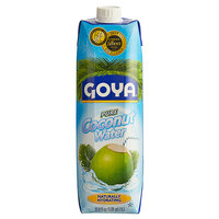Goya 33.8 fl. oz. Coconut Water - 12/Case