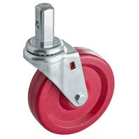 Regency 5 inch High-Heat Caster Without Brake for Storage Racks