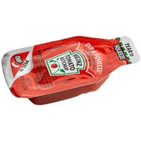 Heinz 0.95 oz. Dip & Squeeze Ketchup Packet - 500/Case