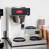Avantco C30 Pourover Commercial Coffee Maker with 3 Warmers - 120V