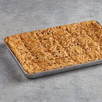 David's Cookies 4 oz. Pre-Cut Blondie Brownie 24-Count Tray - 2/Case