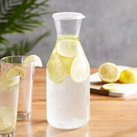 Choice 51 oz. Polycarbonate Carafe with Flat Lid