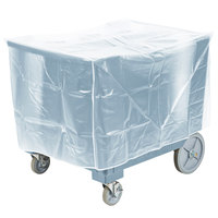 Cambro ADCS401 S Series Adjustable Slate Blue Caddy with Vinyl Cover - 6 Column