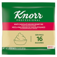Knorr 7.31 oz. White Chocolate Mousse Mix - 10/Case