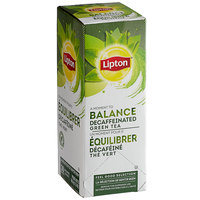 Lipton Decaffeinated Green Tea Bags - 28/Box