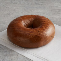 Original Bagel 4.5 oz. New York Style Pumpernickel Bagel - 75/Case