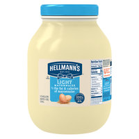 Hellmann's 1 Gallon Light Mayonnaise - 4/Case