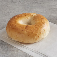 Original Bagel 4.5 oz. New York Style Onion Bagel - 75/Case