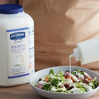 Hellmann's 1 Gallon Creamy Ranch Dressing - 4/Case